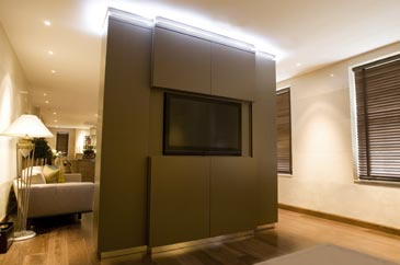 Bespoke Fitted Media Cabinets London