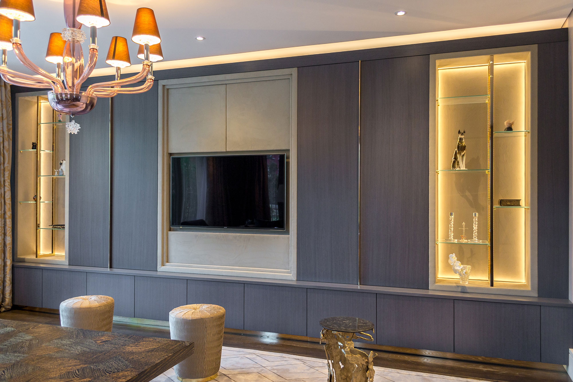 Bespoke fitted furniture wardrobes london for Bespoke kitchen cabinets