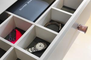 walk in wardrobe drawer