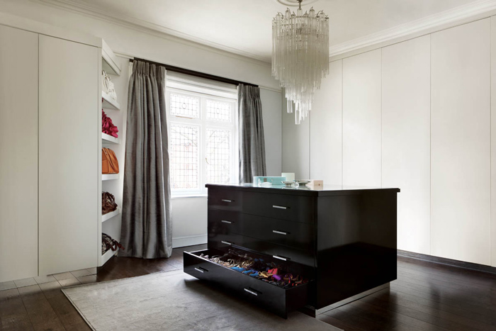 London luxury custom built furniture and wardrobes